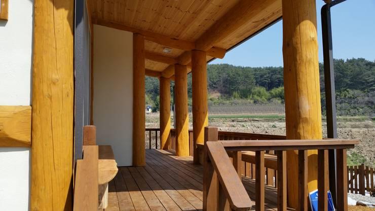 21평 소형주택-고성 통나무집: 보국주택의