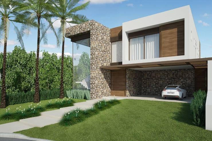Houses by Quitete&Faria Arquitetura e Decoração