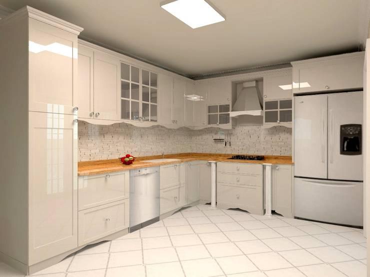 Projekty,  Kuchnia zaprojektowane przez Monarch Mutfak