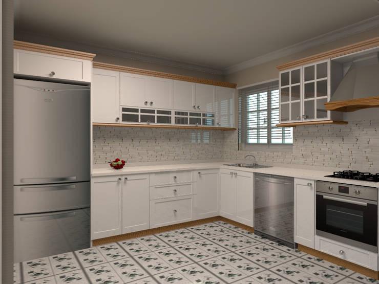 country Kitchen by Monarch Mutfak