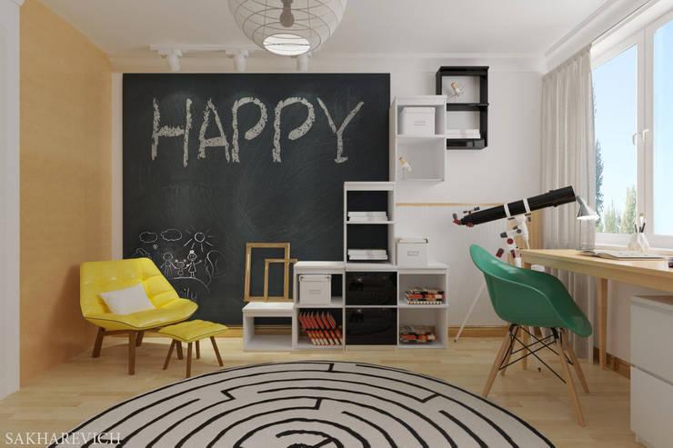 غرفة الاطفال تنفيذ Sakharevich_interiors