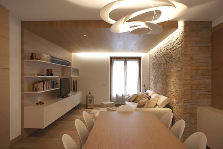 modern Living room by GRITTI ROLLO | Stefano Gritti e Sofia Rollo
