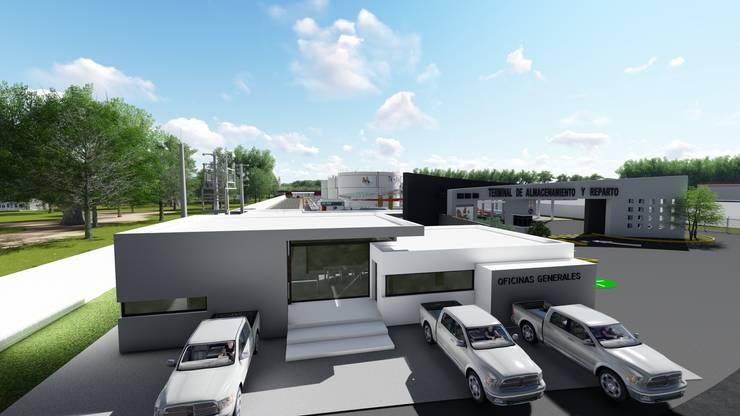 OFICINA:  de estilo  por iA Soluciones de Ingeniería y Aquitectura