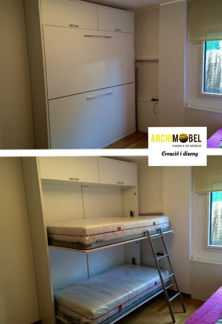 Dormitorios de estilo  por Archimobel