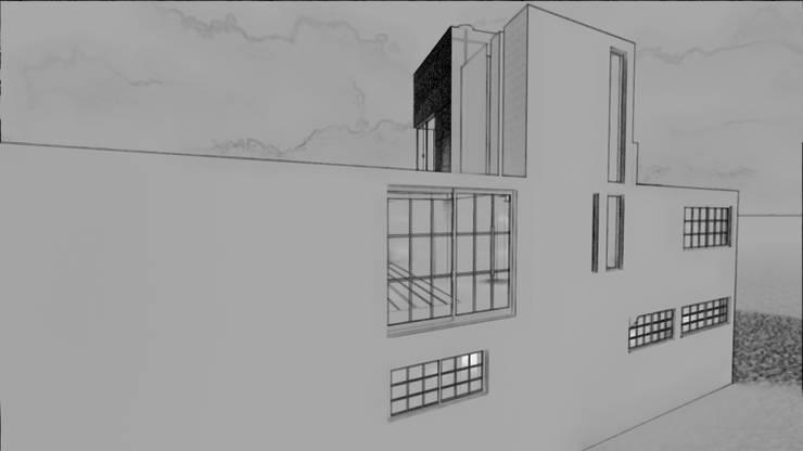 Boceto Norte:  de estilo  por iA Soluciones de Ingeniería y Aquitectura