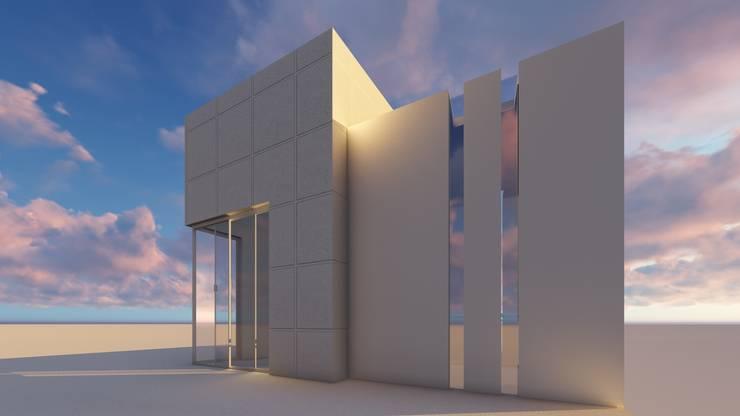 Azotea:  de estilo  por iA Soluciones de Ingeniería y Aquitectura
