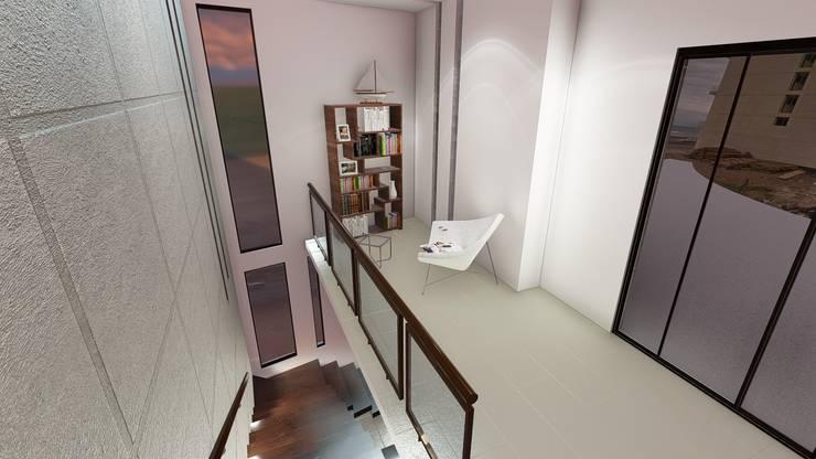 Escalera de azotea:  de estilo  por iA Soluciones de Ingeniería y Aquitectura