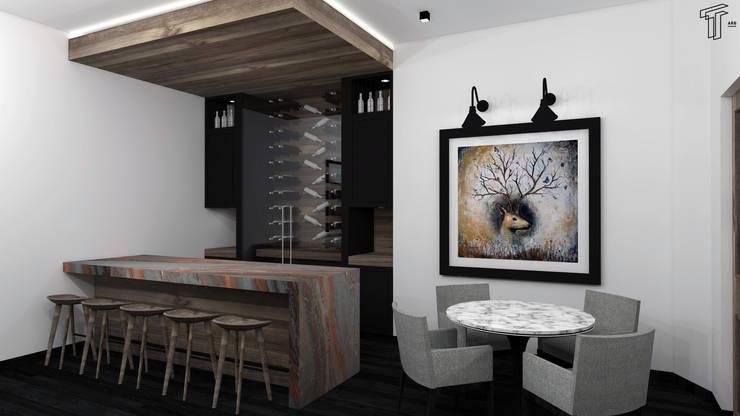 Kitchen by TAMEN arquitectura, Modern