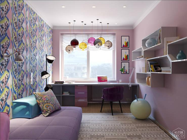غرفة الاطفال تنفيذ ASTER DECO