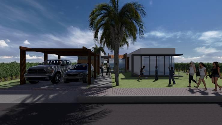 Conjunto Campestres La Unión : Casas de estilo  por ARQUITECTO JUAN ANDRES GUTIERREZ PEREZ, Rural