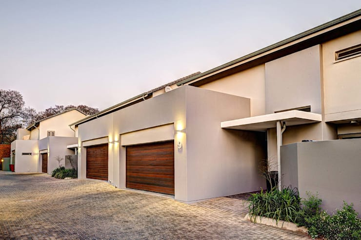 Casas de estilo  por Swart & Associates Architects