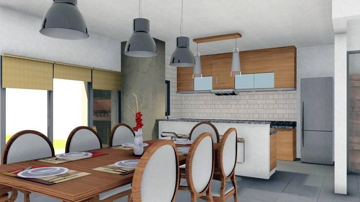 Vivienda JC: Comedores de estilo  por ARBOL Arquitectos