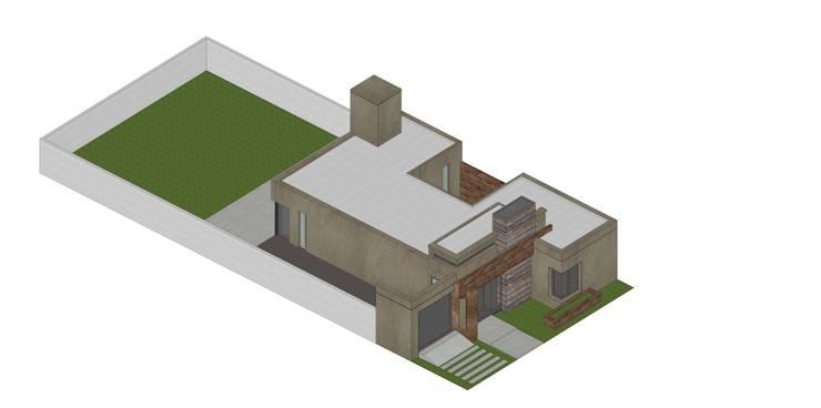 Etapa 1/3: Casas de estilo  por ARBOL Arquitectos