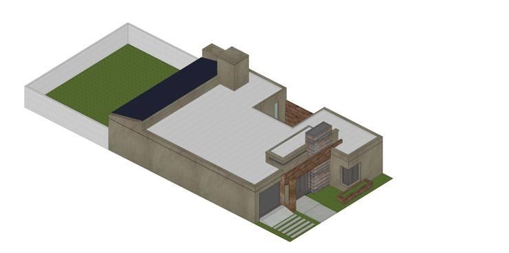 Etapa 2/3: Casas de estilo  por ARBOL Arquitectos