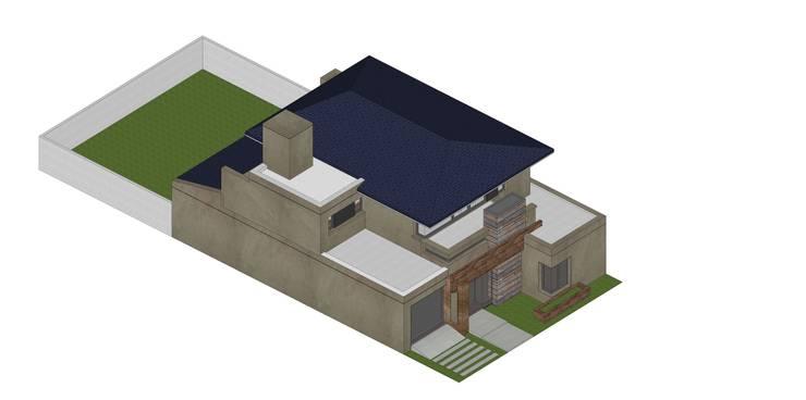 Etapa 3/3: Casas de estilo  por ARBOL Arquitectos