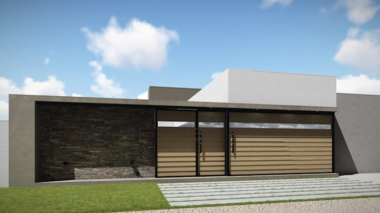 Casa Patio: Casas de estilo  por ARBOL Arquitectos