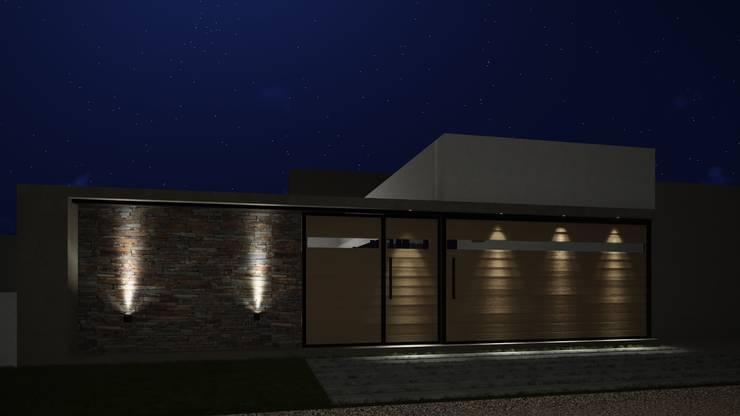 Casa Patio: Casas de estilo  por ARBOL Arquitectos ,