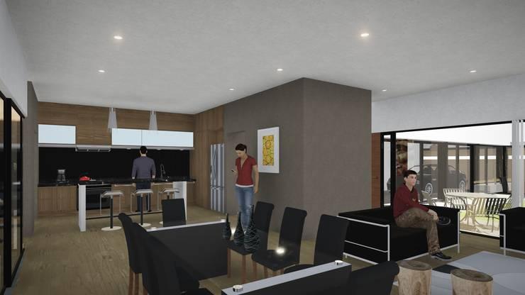 Casa Patio: Comedores de estilo  por ARBOL Arquitectos ,