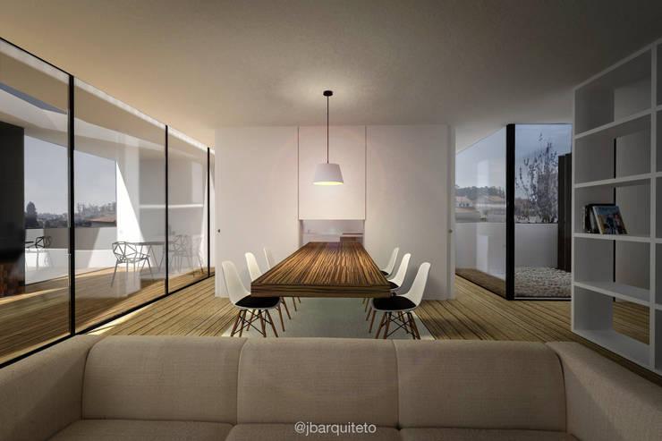 Casa L20: Salas de jantar  por jbarquiteto,