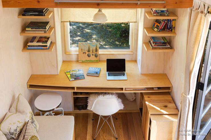 Рабочие кабинеты в . Автор – Chibi Moku