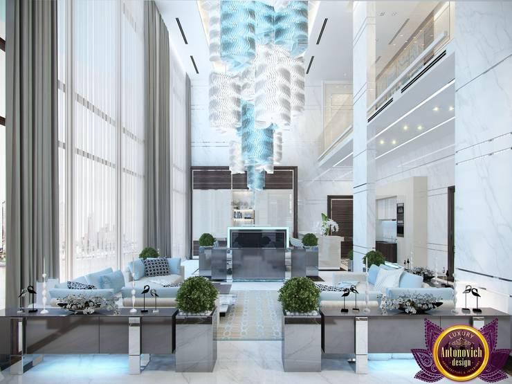 غرفة السفرة تنفيذ Luxury Antonovich Design