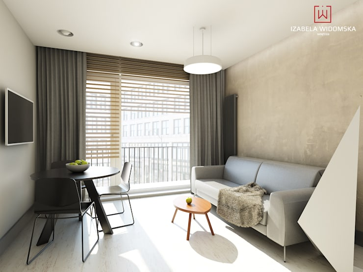Sala Comedor Pequeño Diseño : Comedores y salitas que comparten espacio en casas pequeñas