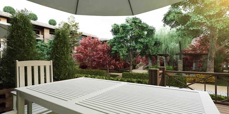 Sümer Mimarlık – 4 mevsim:  tarz Evler, Modern