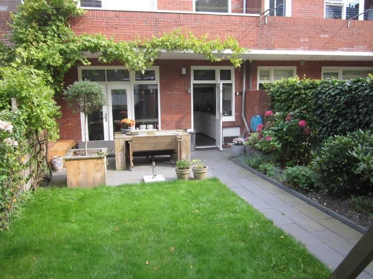Projekty,  Ogród zaprojektowane przez GroenerGras Hoveniers