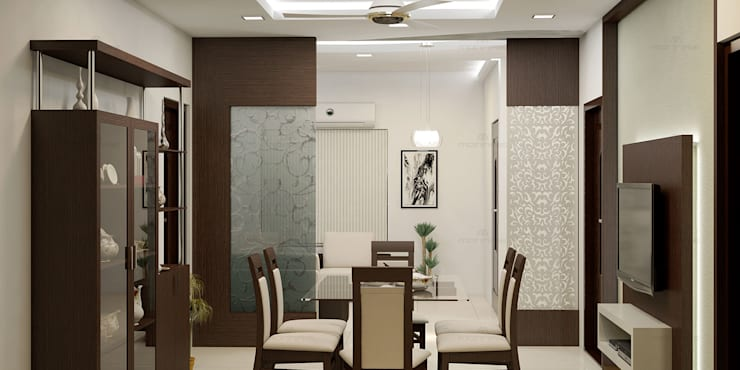 Marvellous: classic Dining room by Premdas Krishna