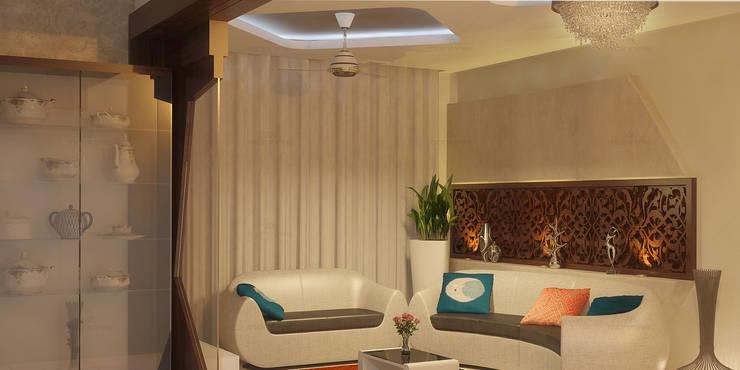 Glorious:  Living room by Premdas Krishna