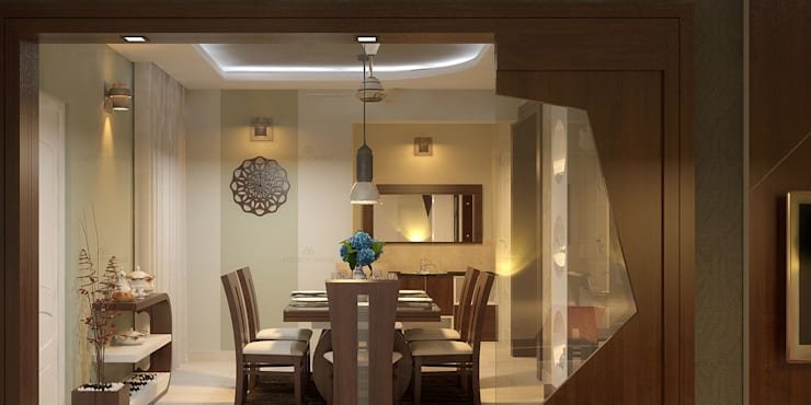 Glorious: classic Dining room by Premdas Krishna