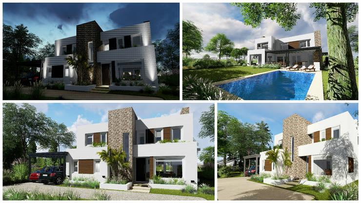 vista generales:  de estilo  por Rocha & Figueroa Bunge arquitectos,