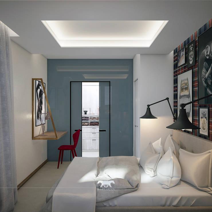 Schlafzimmer von BLUETARPAN