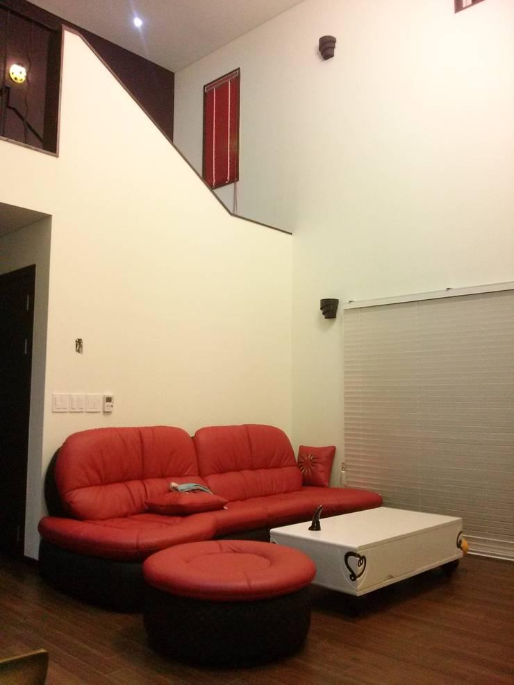 A Haus: 도펠 하우스의  거실