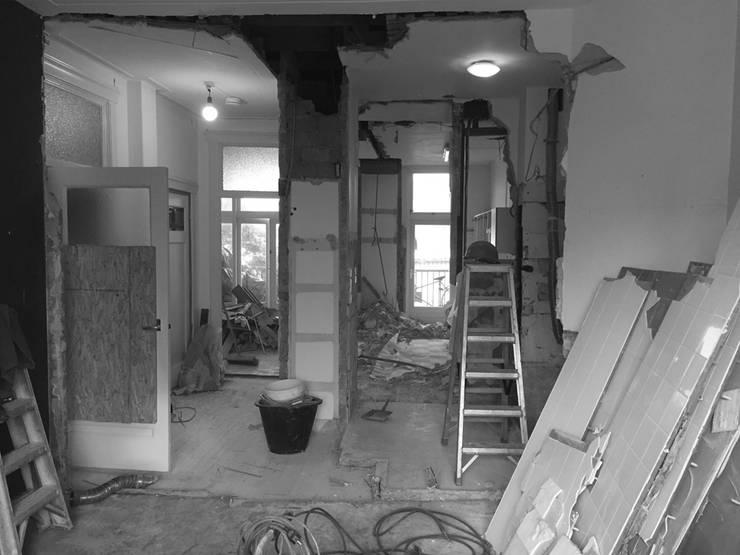 During renovation:   door Kevin Veenhuizen Architects