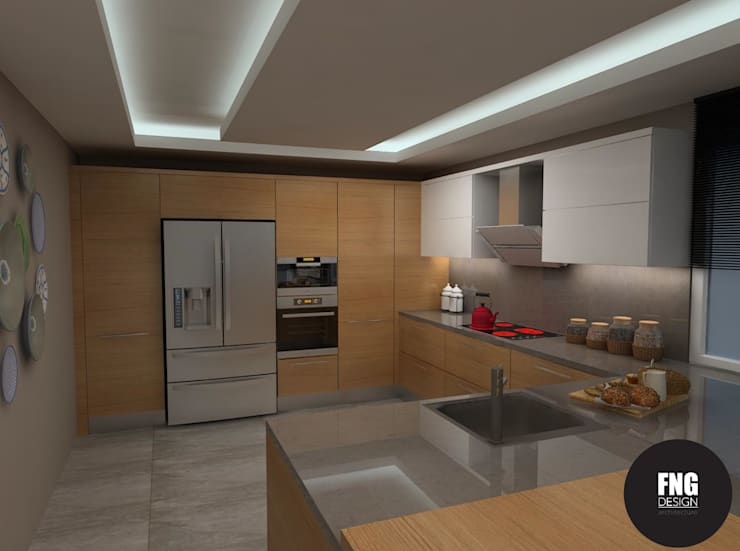 Modern Kitchen by FNG DESIGN Modern