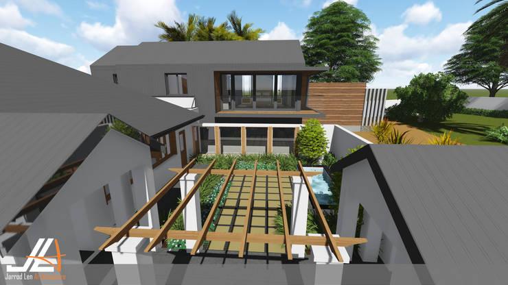 Craighall Park Residence:  Houses by JLA - Jarrod Len Architecture