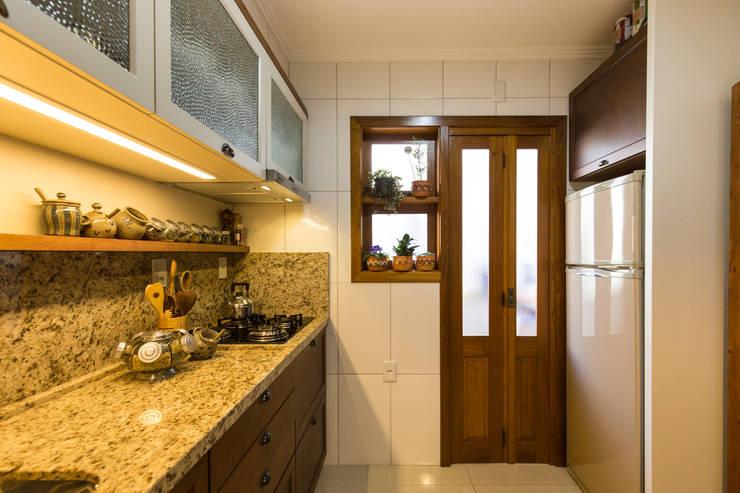 Cocinas de estilo  por Pura!Arquitetura
