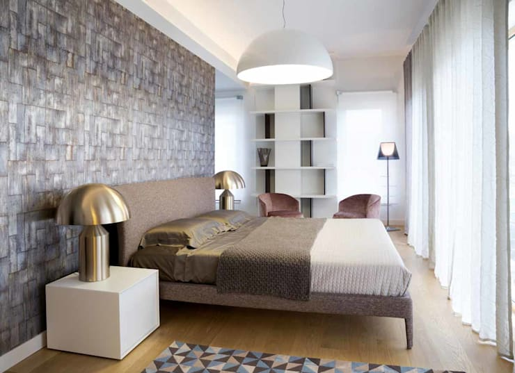Bedroom by Studio Marco Piva