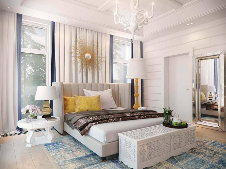 Резиденция в посёлке Репино, 450 кв. м.:  в . Автор – FullHouseDesign