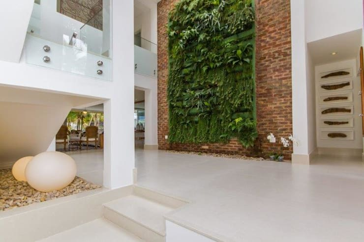 Jardines de invierno de estilo  por Tammaro Arquitetura e Engenharia