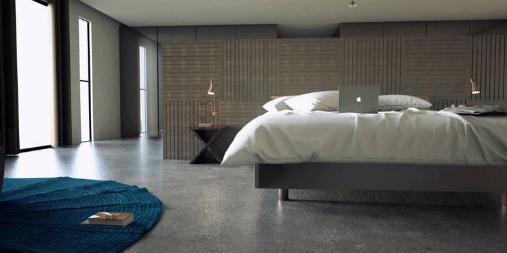 Interior design chic: Recámaras de estilo  por Studio03
