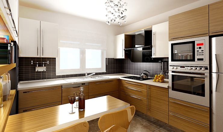 Kitchen by DAYAL Mimarlık