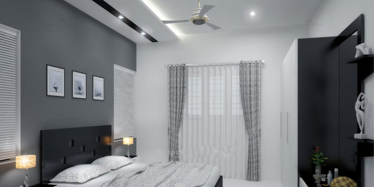 classic Bedroom by Monnaie Architects & Interiors
