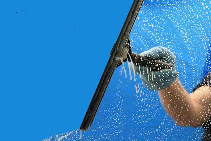 door Window Cleaning Services Crewe