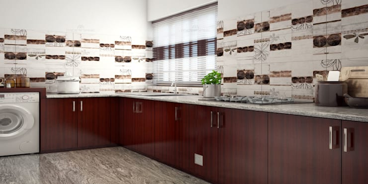 Kitchen by Monnaie Architects & Interiors
