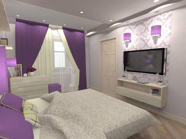 Dormitorios de estilo minimalista por ARTWAY центр профессиональных дизайнеров и строителей
