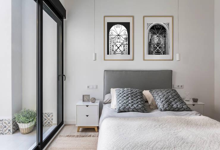 Habitaciones de estilo  por GLOBO ESTUDIO