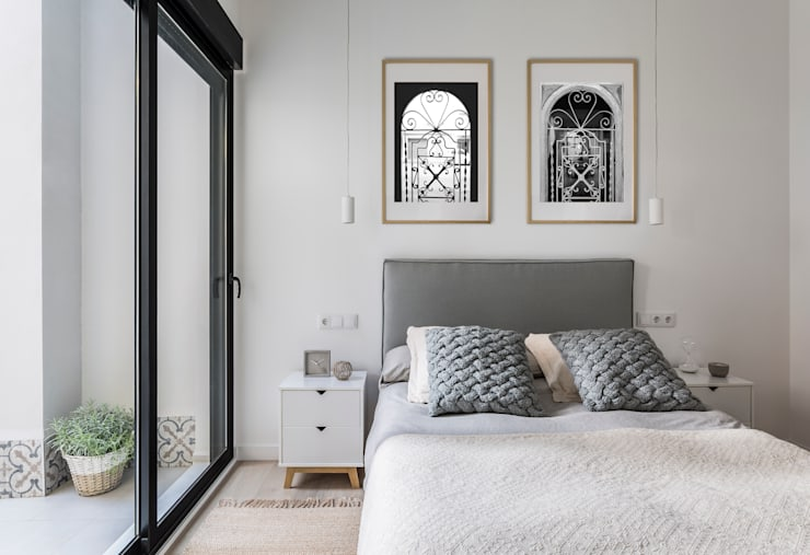 غرفة نوم تنفيذ GLOBO ESTUDIO