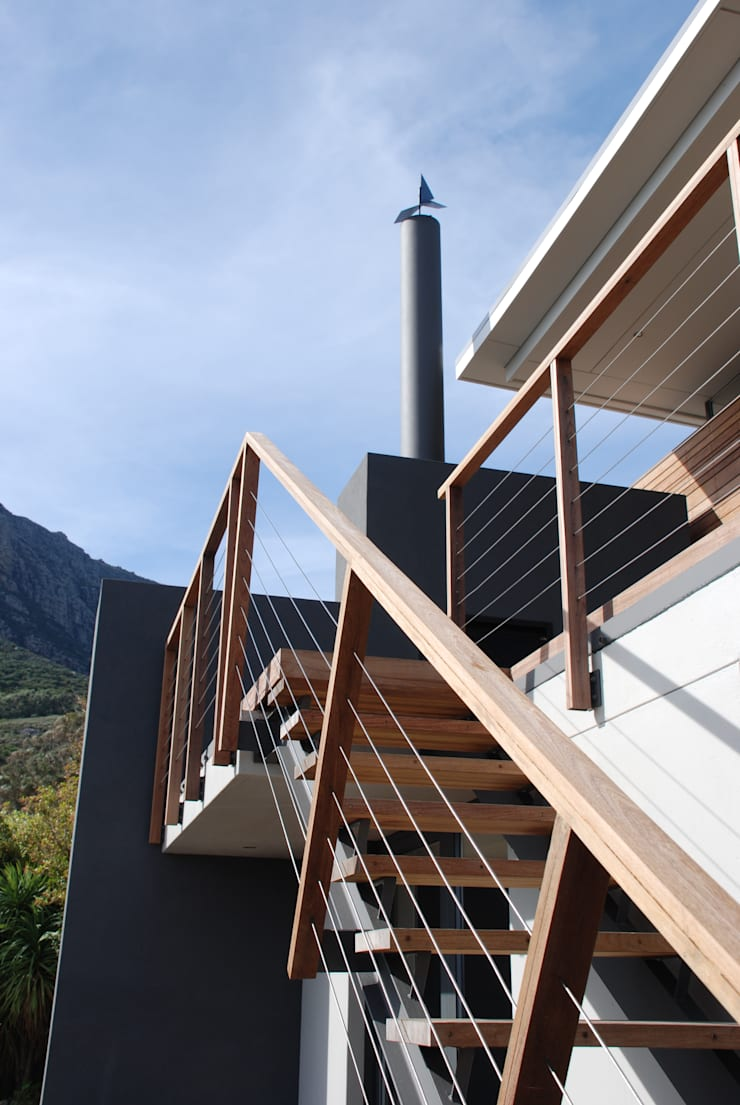 New Private Home in Llandudno:  Patios by Gallagher Lourens Architects, Modern